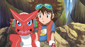 Episodio 3 (TDigimon Xros Wars: Temporada 1) de Digimon Fusion