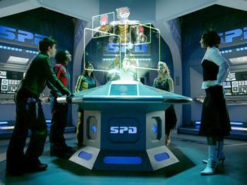 Episodio 10 (TPower Rangers S.P.D.) de Power Rangers S.P.D.