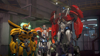 Episodio 16 (TTemporada 2) de Transformers Prime