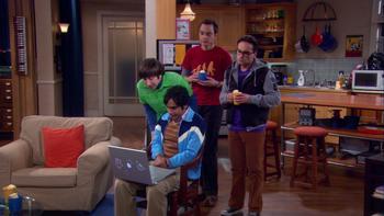 Episodio 23 (TTemporada 2) de The Big Bang Theory