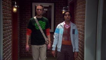 Episodio 4 (TTemporada 3) de The Big Bang Theory