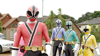 Episodio 1 (TPower Rangers Super Samurai) de Power Rangers Super Samurai
