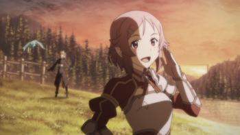 Episodio 24 (TTemporada 1) de Sword Art Online II