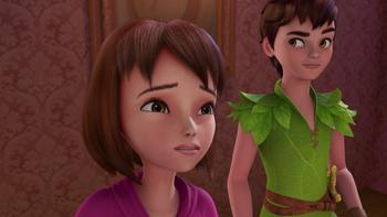 Episodio 25 (TTemporada 1) de Las nuevas aventuras de Peter Pan