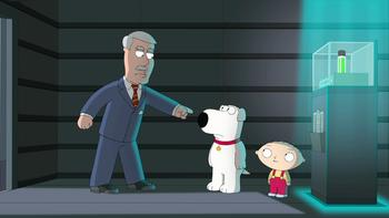 Episodio 3 (TTemporada 11) de Family Guy