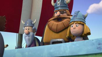 Episodio 8 (TTemporada 1) de Vicky el vikingo