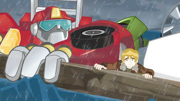 Episodio 17 (TTemporada 1) de Transformers: Rescue Bots