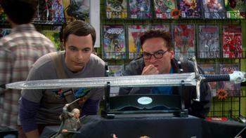 Episodio 5 (TTemporada 5) de The Big Bang Theory