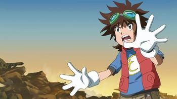 Episodio 21 (TDigimon Xros Wars: Temporada 1) de Digimon Fusion