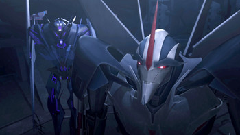 Episodio 13 (TTemporada 1) de Transformers Prime
