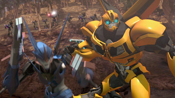Episodio 18 (TTemporada 2) de Transformers Prime