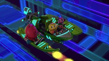 Episodio 8 (TTemporada 1) de Pac-Man y las Aventuras Fantasmales