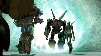 Episodio 12 (TTemporada 3) de Transformers Prime