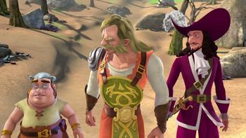 Episodio 11 (TTemporada 1) de Las nuevas aventuras de Peter Pan