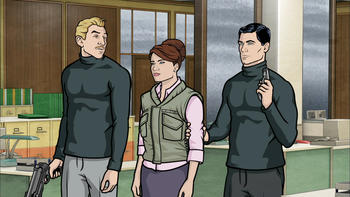 Episodio 10 (TTemporada 2) de Archer