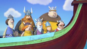 Episodio 30 (TTemporada 1) de Vicky el vikingo