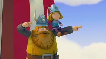 Episodio 4 (TTemporada 1) de Vicky el vikingo