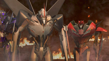 Episodio 26 (TTemporada 2) de Transformers Prime