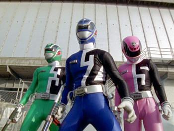 Episodio 8 (TPower Rangers S.P.D.) de Power Rangers S.P.D.