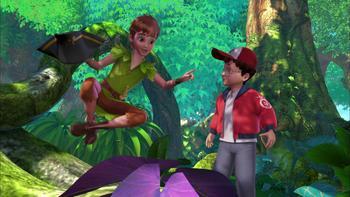 Episodio 3 (TTemporada 1) de Las nuevas aventuras de Peter Pan