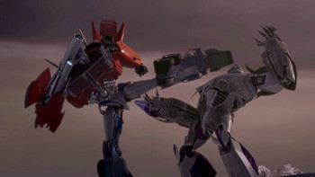 Episodio 23 (TTemporada 1) de Transformers Prime
