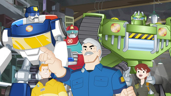 Episodio 23 (TTemporada 1) de Transformers: Rescue Bots