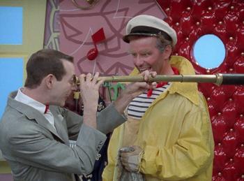 Episodio 11 (TTemporada 1) de Pee-wee's Playhouse