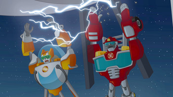 Episodio 5 (TTemporada 1) de Transformers: Rescue Bots