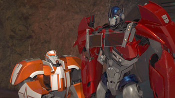 Episodio 8 (TTemporada 2) de Transformers Prime