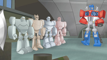 Episodio 1 (TTemporada 1) de Transformers: Rescue Bots