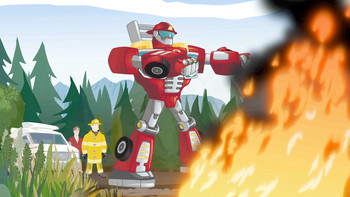 Episodio 3 (TTemporada 1) de Transformers: Rescue Bots