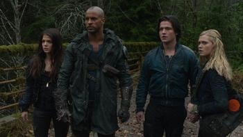Episodio 9 (TTemporada 1) de The 100