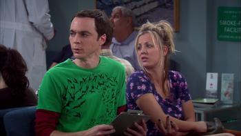 Episodio 8 (TTemporada 3) de The Big Bang Theory