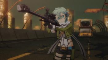 Episodio 15 (TTemporada 1) de Sword Art Online II