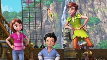 Episodio 13 (TTemporada 1) de Las nuevas aventuras de Peter Pan