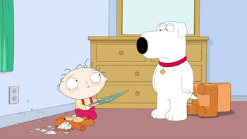 Episodio 16 (TTemporada 10) de Family Guy