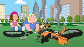 Episodio 15 (TTemporada 9) de Family Guy