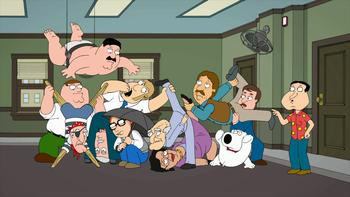 Episodio 17 (TTemporada 11) de Family Guy