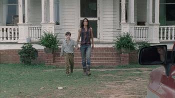 Episodio 9 (T2) de The walking dead