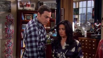 Episodio 21 (TTemporada 4) de The Big Bang Theory