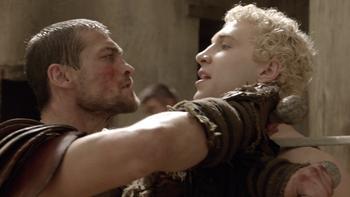 Episodio 11 (TBlood and Sand) de Spartacus