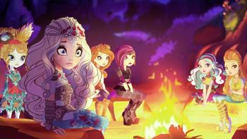 Episodio 3 (TJuego de dragones) de Ever After High
