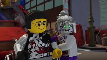 Episodio 4 (TTemporada 3) de LEGO Ninjago: Masters of Spinjitzu