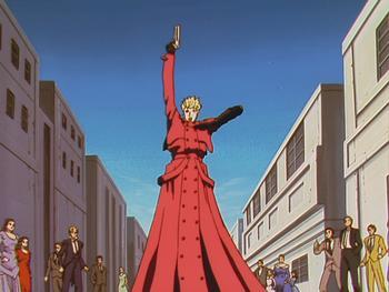 Episodio 16 (TThe Complete Series) de Trigun