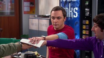Episodio 19 (TTemporada 4) de The Big Bang Theory