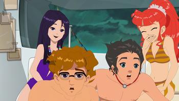Episodio 4 (TTemporada 1) de H2O: Aventuras de sirenas