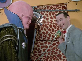 Episodio 9 (TTemporada 2) de Pee-wee's Playhouse
