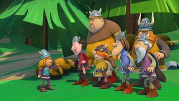 Episodio 22 (TTemporada 1) de Vicky el vikingo