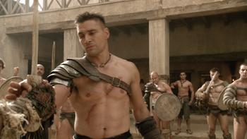 Episodio 9 (TBlood and Sand) de Spartacus