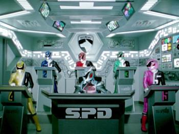 Episodio 22 (TPower Rangers S.P.D.) de Power Rangers S.P.D.